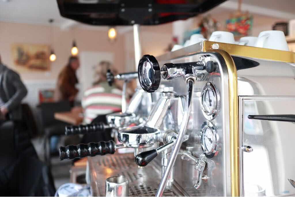 Kaffee Siebmaschine